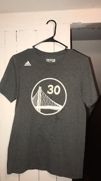 Stephen curry jersey t-shirt addidas men's small