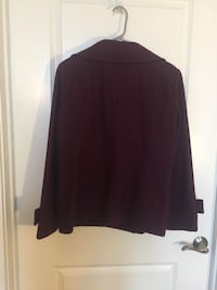 women's maroon long-sleeved shirt Silver Spring, 20902