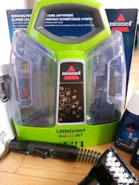 NEW Bissell little green proheat pet vacuum