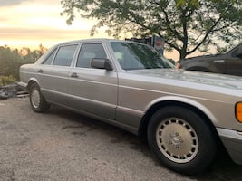 1988 Mercedes 420 SEL Need gone today!