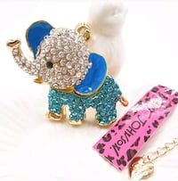 Cute Elephant Necklace 28 km