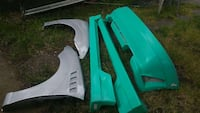 2001 - 2005 Ford Focus ZX3 body kit