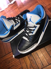 Jordan Sports Blue 3's Washington, 20018