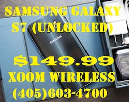 Blowout Sale on Samsung Galaxy s7 (network unlocked) right here at XOOM WirelessSmart phones starts @ $59.99 right here at XOOM WIRELESS, Huge sale on all smart phones. XOOM WIRELESS has the largest selection of smart phones, tablets, accessories and much