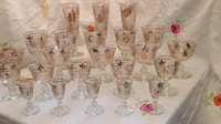 assorted clear glass wine glasses Bethesda