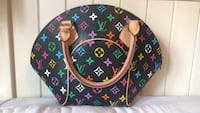 Black, pink, and green louis vuitton tote bag Brampton, L6P 0X6