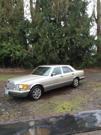 gray Mercedes-Benz sedan SEATTLE