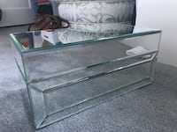 Jewelry/ storage glass box with felt lining Castro Valley, 94546
