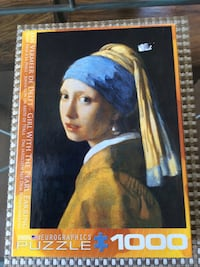 "Eurographics ""Girl with the Pearl Earring"" 1000pc puzzle"