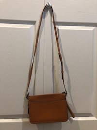 Burnt orange across the shoulder coach purse Langley, V3A 2C5