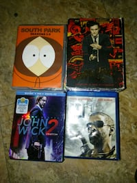 Dvds and 2 blu-ray movies. Fort Myers, 33916