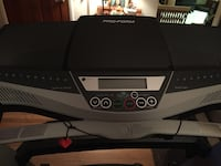 Black and gray pro-form treadmill Hagerstown, 21740