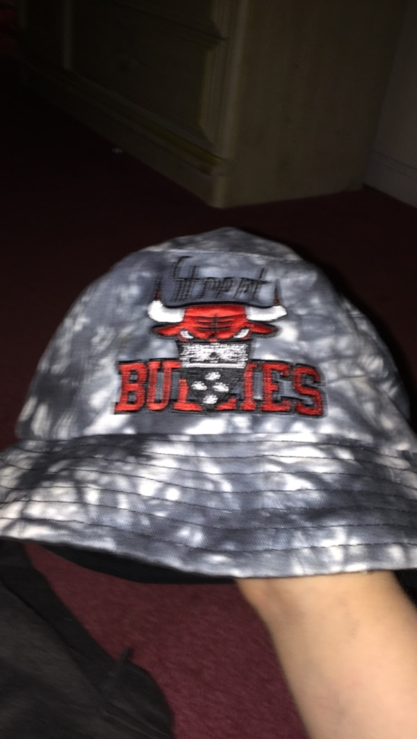 39465d15dd7bf Used gray and white Chicago Bulls bucket hat for sale in Woodstock - letgo