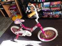 toddler's pink and white bicycle Regina, S4S 4H4