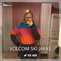 Volcom ski jakke, str Medium