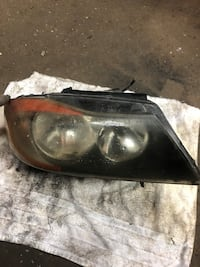 BMW  335 2007 passenger said headlight cracked  Linden, 07036