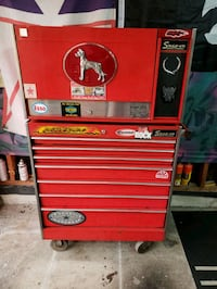 Snap on took chest with all the tools in it Mississauga, L4Z