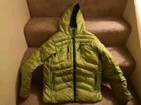 Kids Green 700 fill down jacket x-large 3743 km