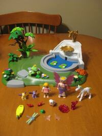 Playmobil super set fairy fountain complete
