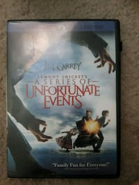 A Series of Unfortunate Events DVD