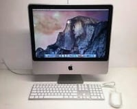 "8 GB Ram Core 2 Dou Apple iMac 1/4 Tera Storage 20"" inch Screen $225 Toronto, M9V 2G3"