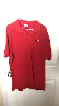 Lacoste men's polo shirt in size 7 Surrey, V3X 0B3