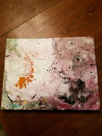Pour Painting Sterling, 20165