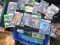 Assorted Xbox 360 wii & ps2 games Salem, 44460