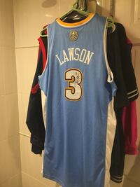 Signed Ty Lawson Denver Nuggets Jersey