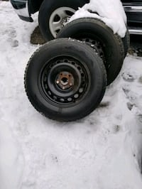 235 65 16 RIMS AND TIRES Firestone winters $250 Toronto, M9L 1S7