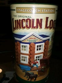 THE ORIGINAL LINCOLN LOGS STAGECOACH STATION SALE Providence