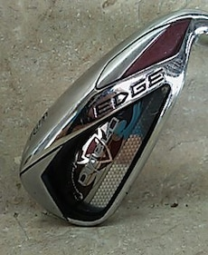 silver edge gold wedge