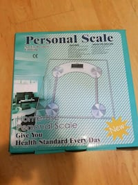 Brand new personal scale  Cornwall, K6H 2H1
