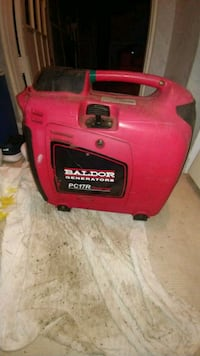 red and black Troy-Bilt portable generator 3731 km
