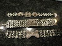 Real Silver brand new bracelet and rings Surrey, V4N 1W2
