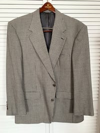Bill Blass Men's Houndstooth 2-Button Sports Jacket Severn, 21144