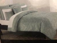 King size Grey fancy Bed cover  Vaughan, L4H 2X4