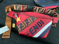 Red Fendi Waist Bag Montgomery Village, 20886