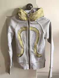 gray and yellow zip-up hoodie London, N5X 4H5