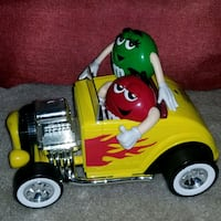 M&M roadster car candy dispenser.  Frederick, 21703