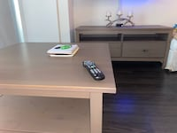 Tv stand & coffee table set