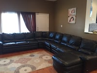 Natuzzi leather sectional couch Hasbrouck Heights, 07604