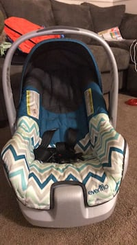 EvenFlo Blue and gray car seat carrier Laurel, 20707