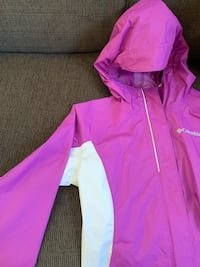 Girls Rain Coat, Columbia Sport, size 10/12 Washington, 20016