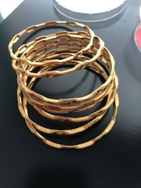"""Woman Indian jewelry bangles set 2.8"""" size Allen, 75002"""