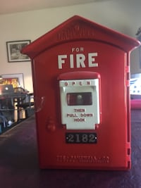 Gamewell Fire Alarm Box Bowie