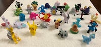30 New Pokemon Small Toy Figures (Pikachu, Mewtwo, Absol, Machop, Diglet & much more!) $15 ALL FIRM  Visalia, 93292