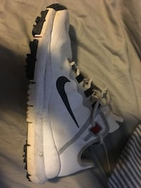 white and gray Nike golf shoe Toronto, M8Z 1T8