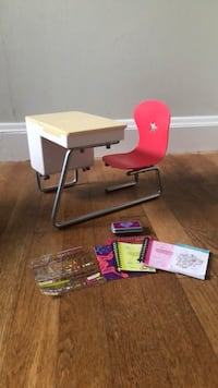 American Girl Flip Top Desk