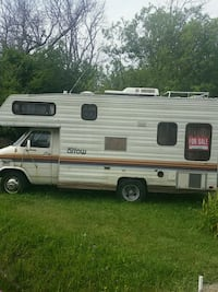 white and brown RV trailer Fort Erie, L2A 5M4
